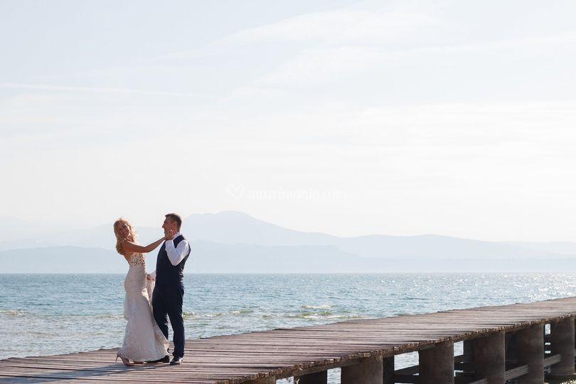 Wedding on Garda Lake