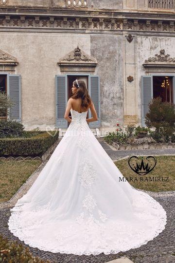 Mara Ramirez abiti da sposa
