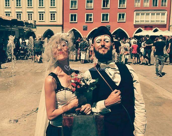 Clown sposi