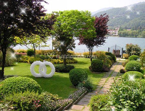 Decorazione del giardino di bubal foto 2 for Decorazione giardino matrimonio