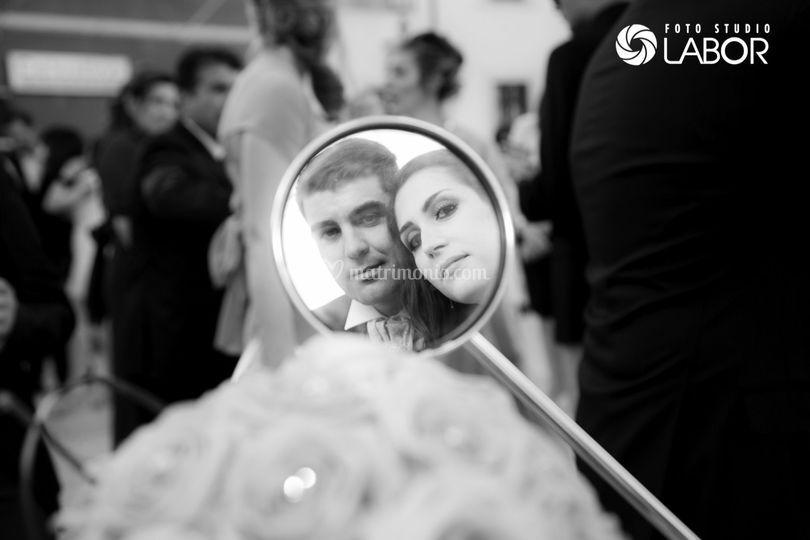 Foto sposi in lambretta