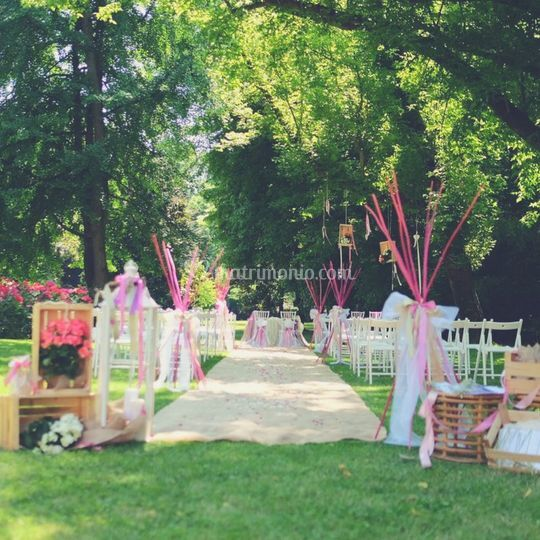 Matrimonio al parco