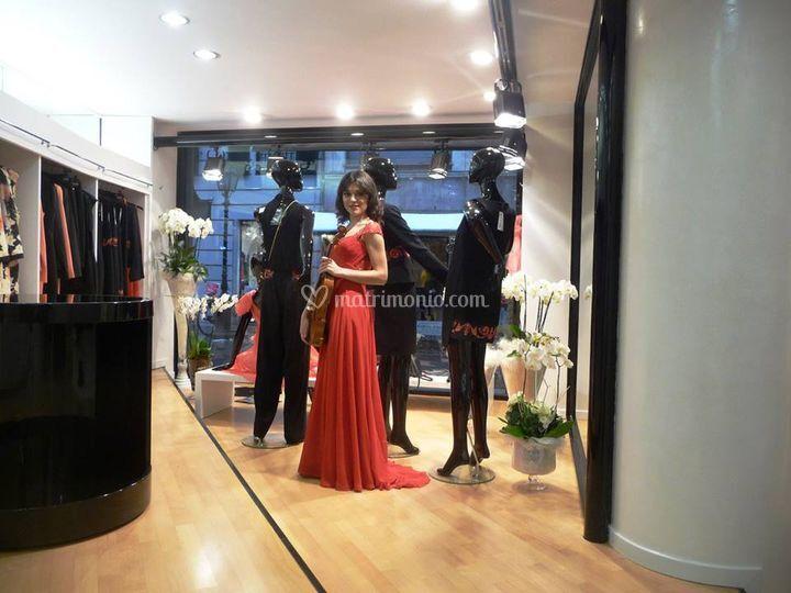 Giulia ermirio violista e violinista for Boutique hotel genova