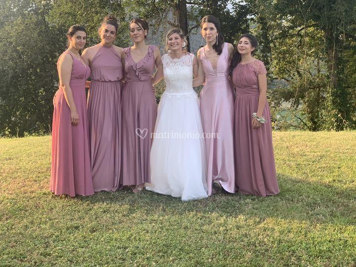 Le damigelle della sposa