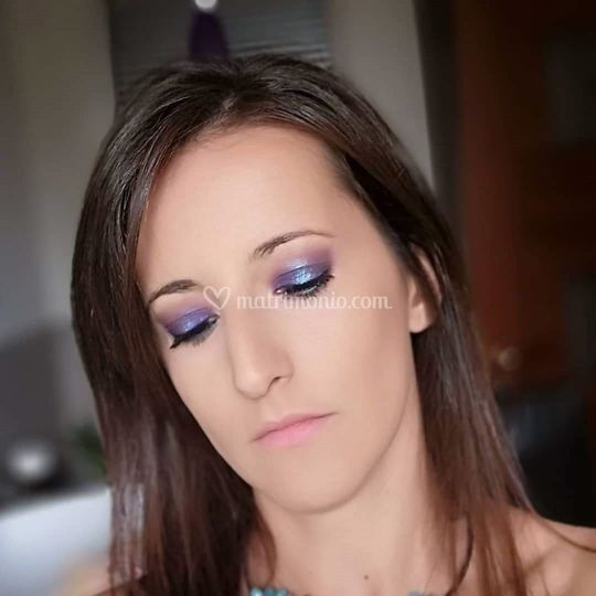 Self makeup - Halo smokey
