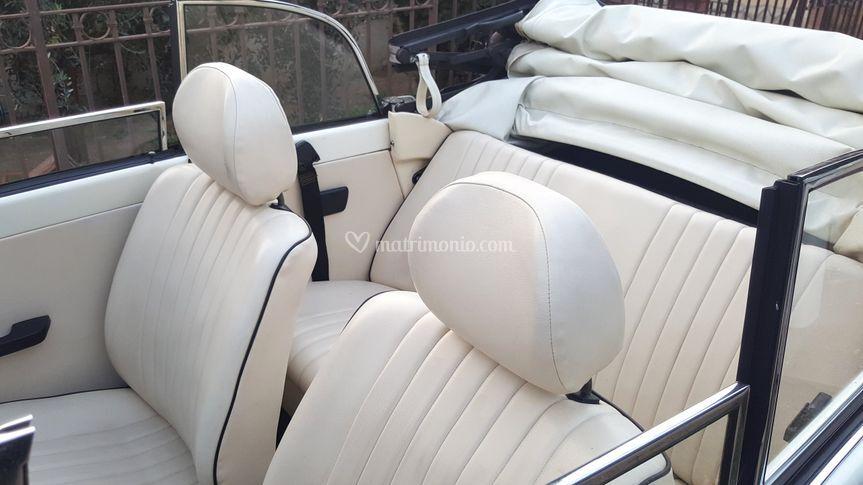 Maggiolone cabrio interni