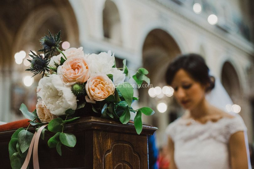Dettaglio Bouquet da sposa