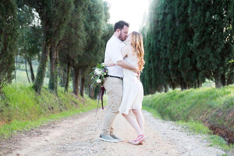 Ritratto di coppia Toscana