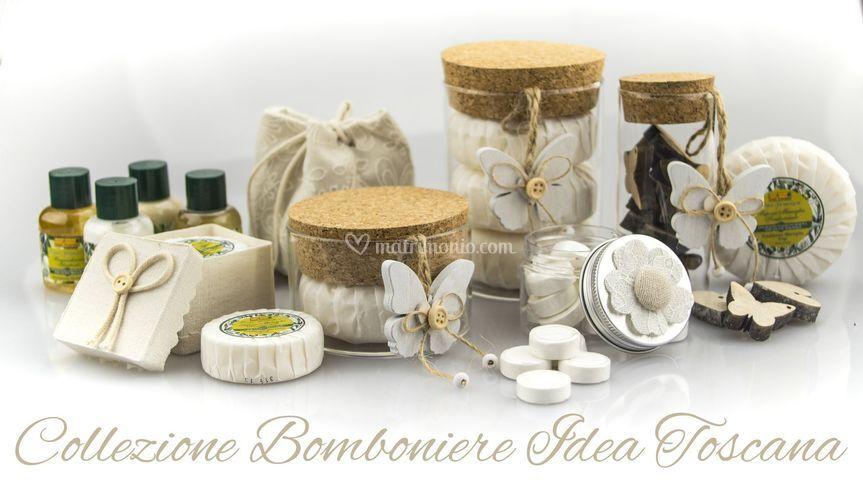 Bomboniere Matrimonio Toscana : Idea toscana