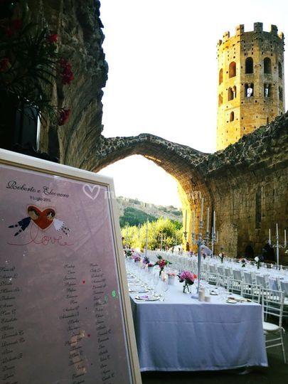 Silvia melone wedding