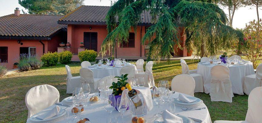 Premium catering - Matrimonio in giardino ...