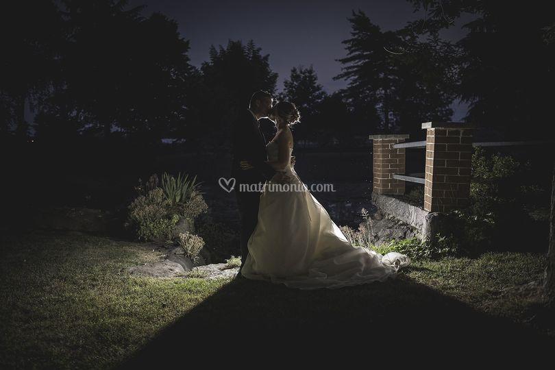 Luce sugli sposi