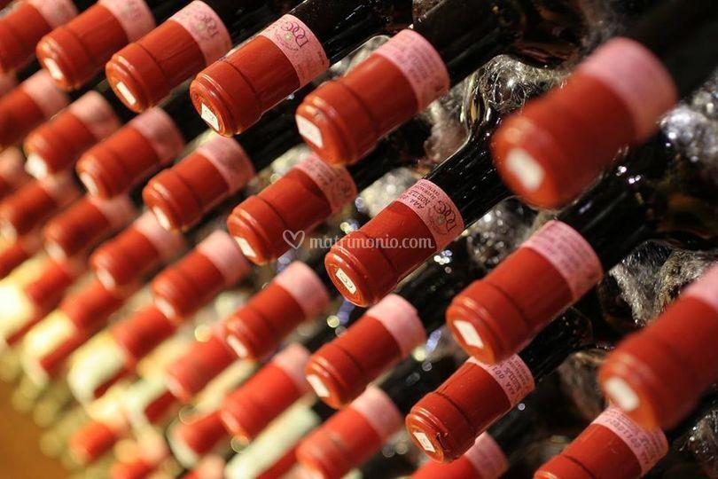 Un'ampia scelta di vini