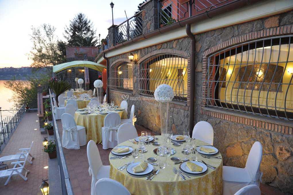 Ricevimento in terrazza di Villa Giulia sul Lago | Foto