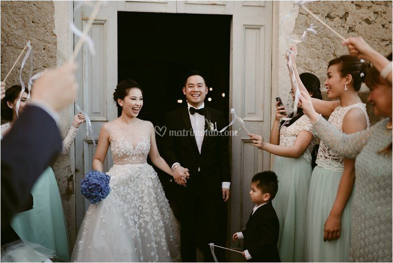 Matrimonio filippino in Liguria