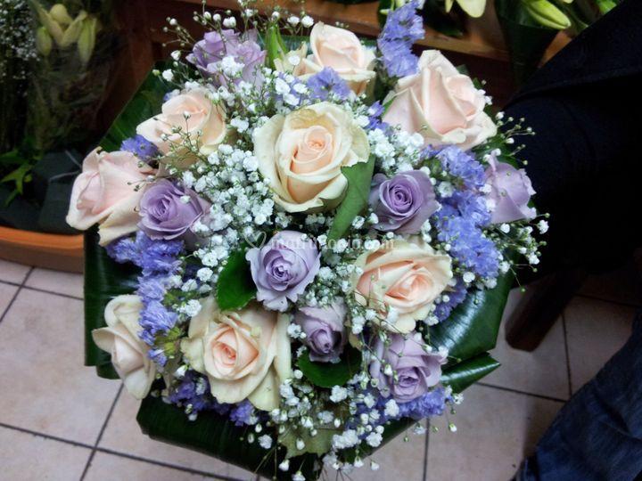 Bouquet sposa vendemmia