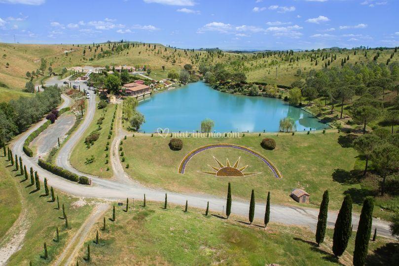 Matrimonio Lago Toscana : Ristorante il lago