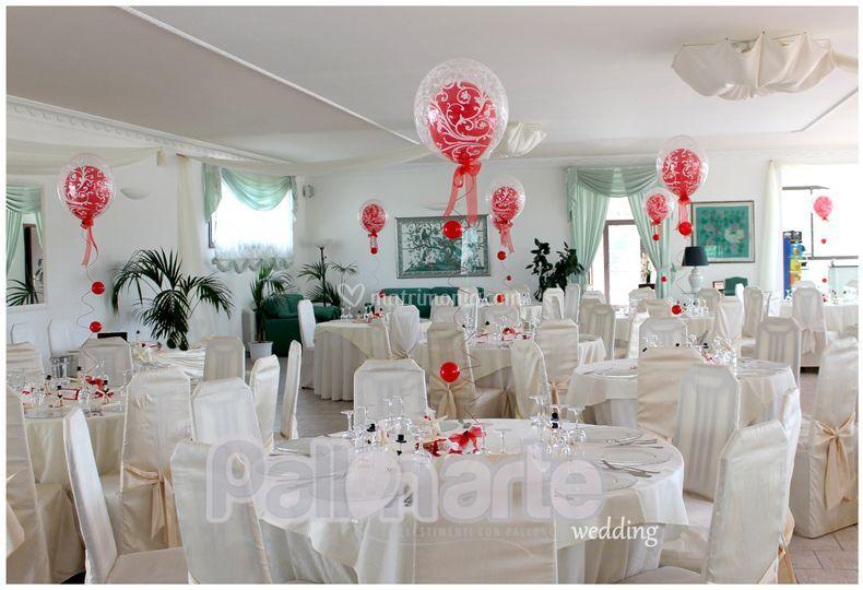 Pallonarte - Decorazioni matrimonio palloncini ...