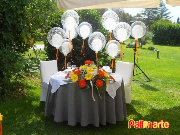 Allestimento matrimonio di Pallonarte  Foto 11