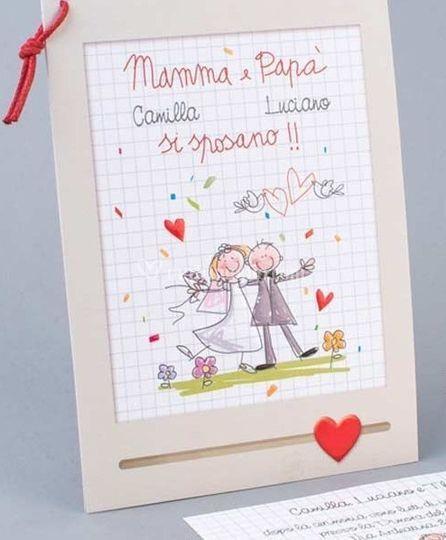 Mamma e papà si sposano!