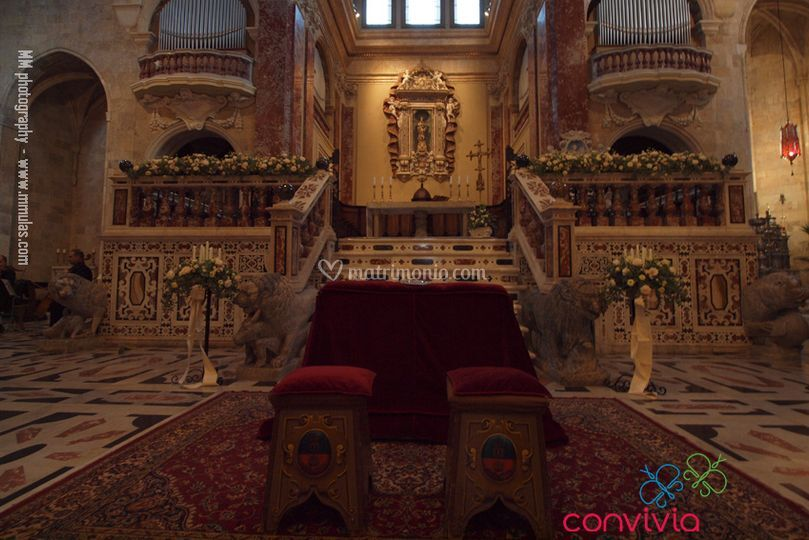 Cerimonia in cattedrale