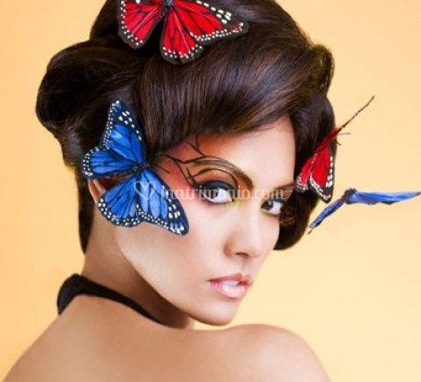 Trucco farfalle