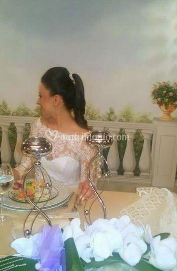 Sposa acconciatura Sala