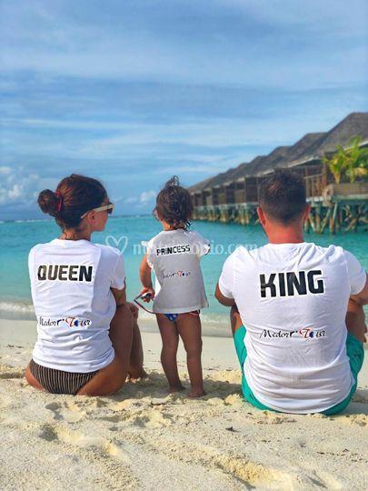 Clienti alle Maldive