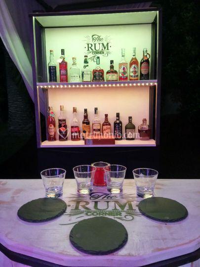 Rum corner night