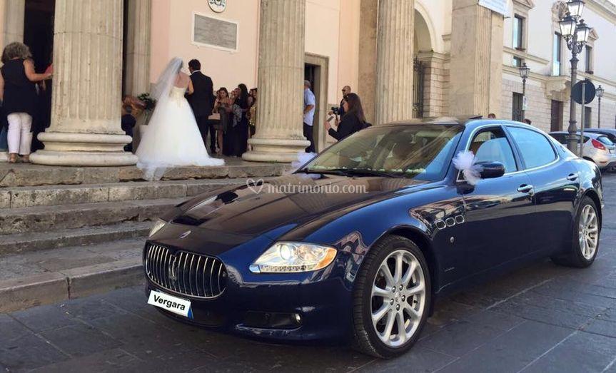 Maserati blu gts