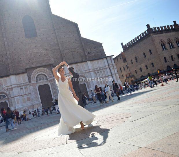 Ballo in Piazza Maggiore