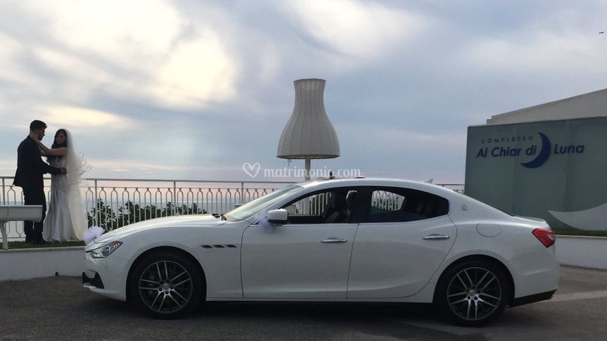 Maserati q4 ghibli bianca