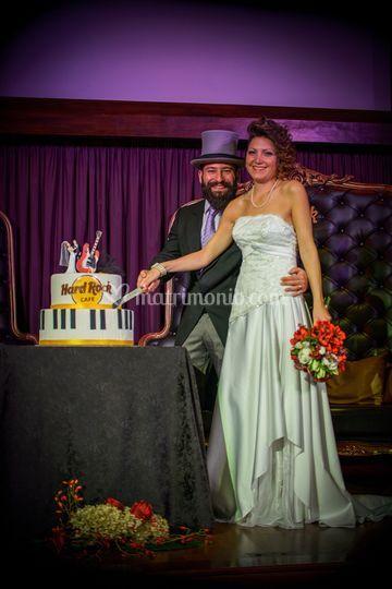 Wedding cake Hard Rock Cafe
