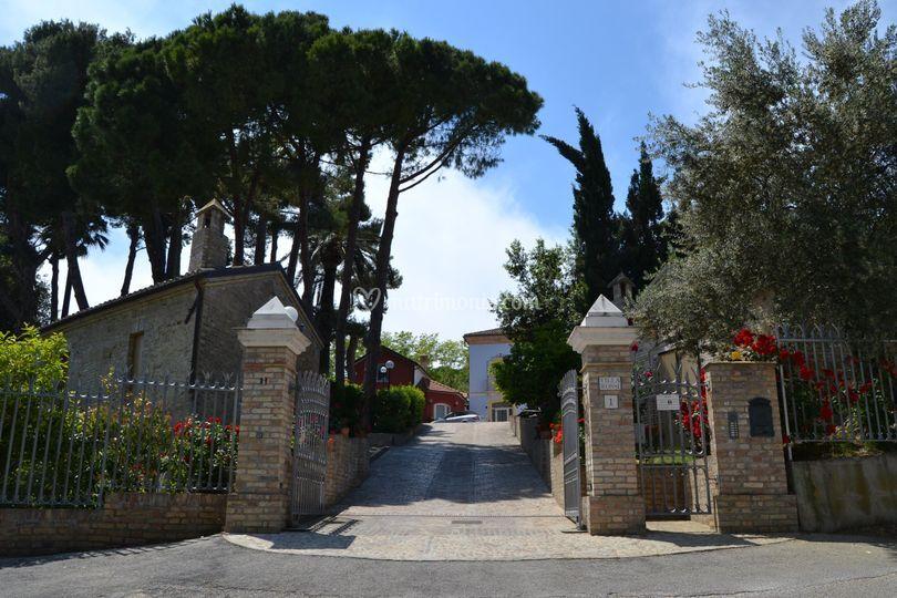 . L'ingresso principale
