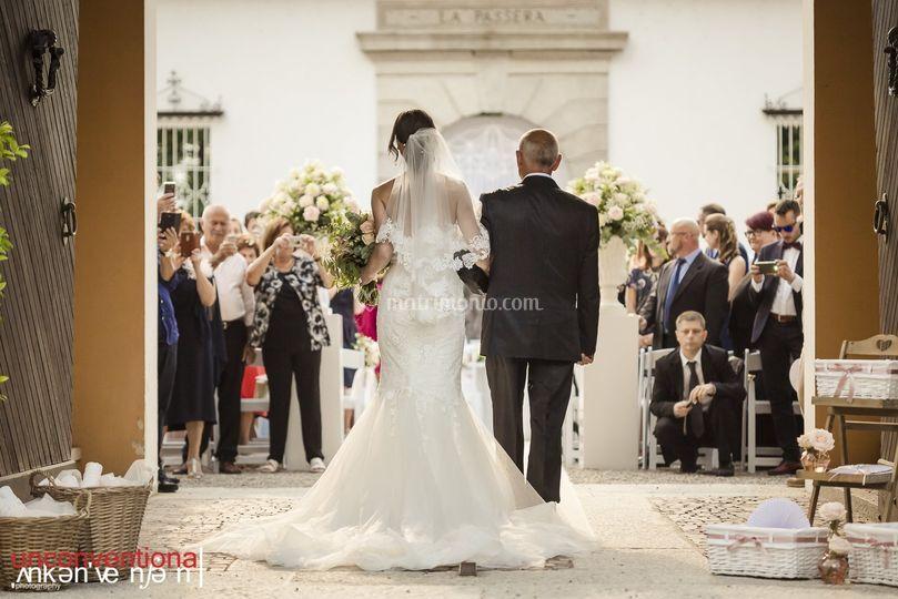 Bride walk
