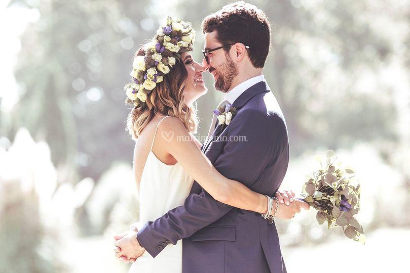 Un matrimonio floreale