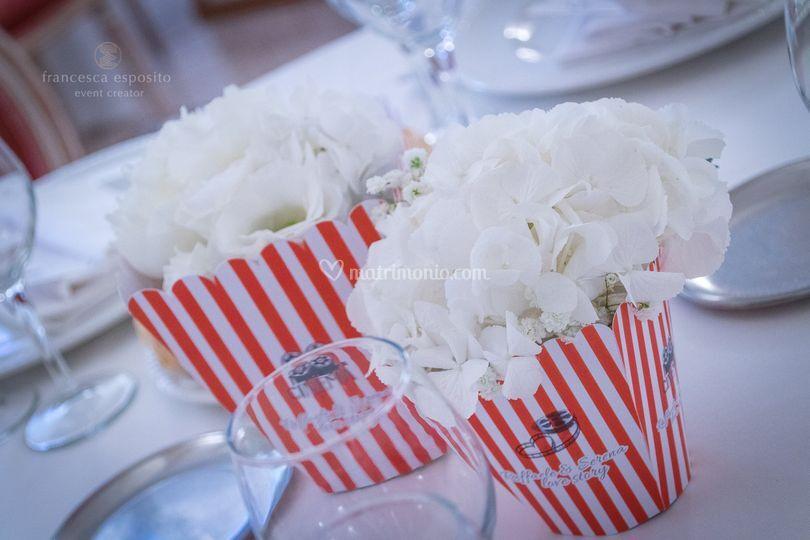 Cinema vintage wedding theme