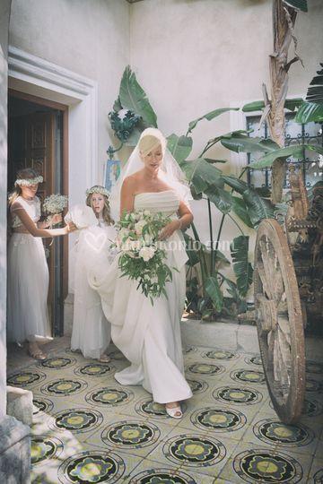 Velo da sposa Sicilia