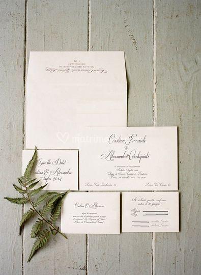 Set grafico nozze