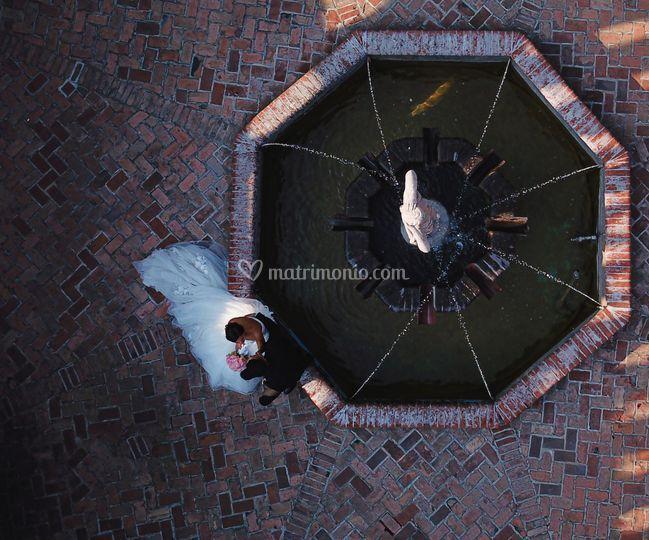 Wedding Up-Fotografo dall'alto