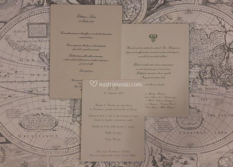 Menu di nozze