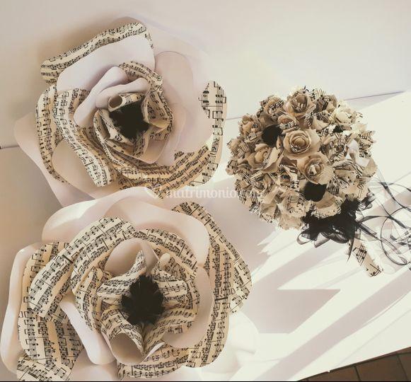 Centrotavolo e Bouquet