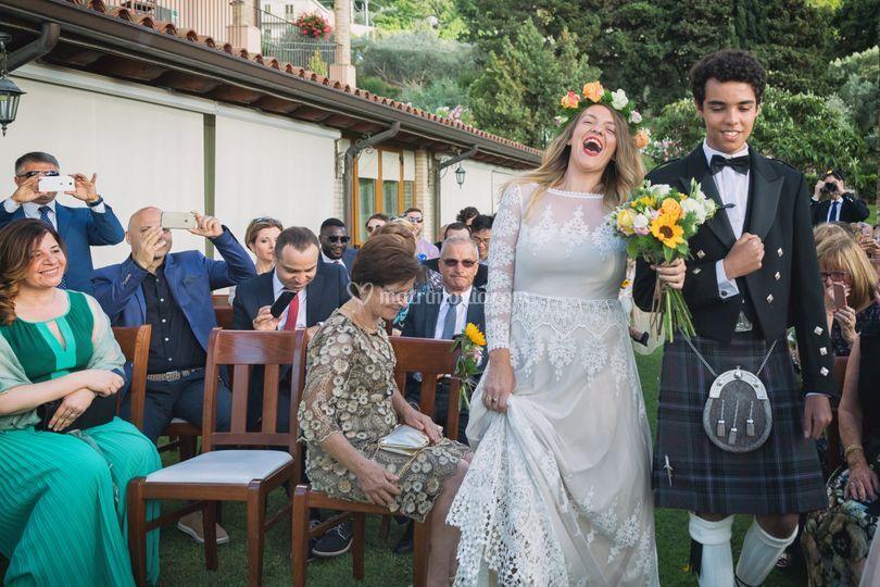 Scottish wedding sicily