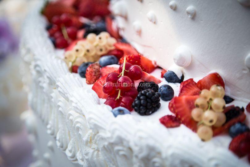 L torta nuziale