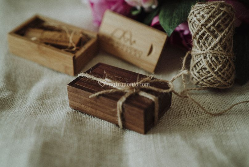 Wood Mini Box USB