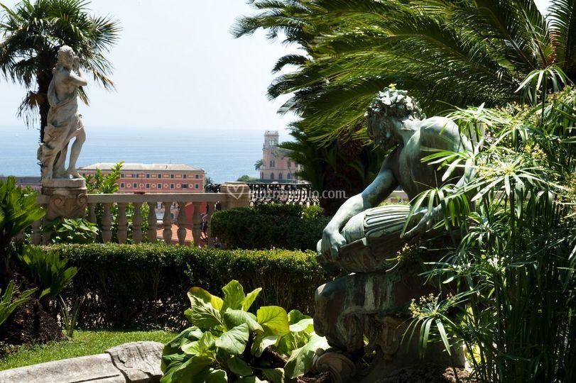 Villa durazzo - Giardino all italiana ...