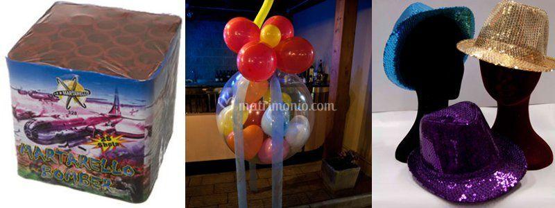 Allestimento palloncini ed effetti speciali