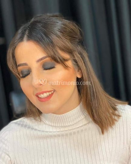 Hair and make up by Glamour