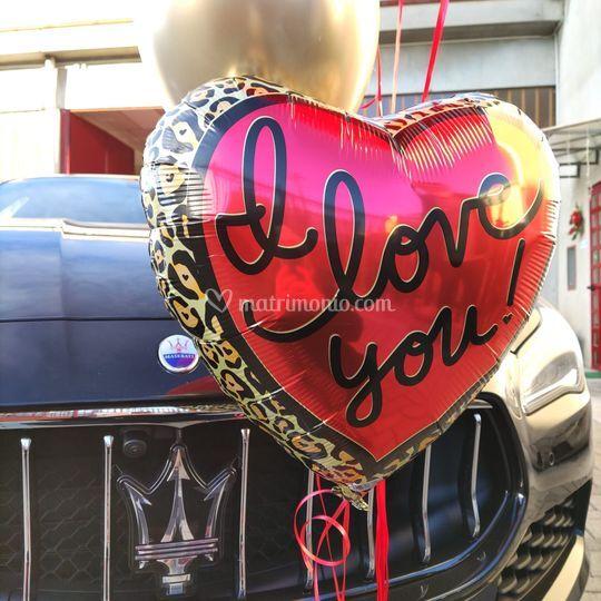 """Maserati e """"I love you"""""""