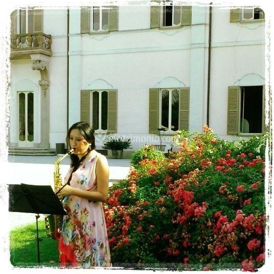 Villa Borromeo, matrimonio